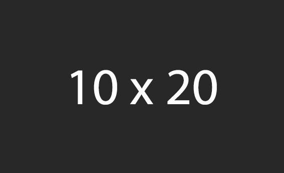 10x20