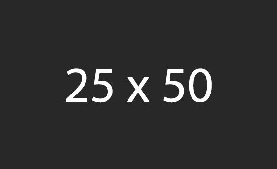 25x50